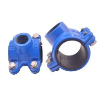 China Grooved Universal Pipe Coupling Clamp Grooved Fittings Ul Fm Approved Mech on sale