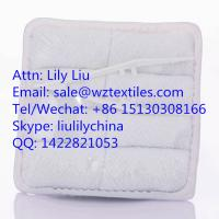 China Airline white disposable cotton hot towel wholesale wholesale