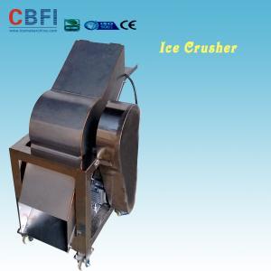 China 110 - 220V Electric Crush Ice Machine , Ice Crushing Machine 2 Tons Per Hour wholesale