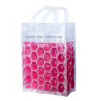 China Freezable Hot and Cold PVC Bottle Handbags Carrier with Non-toxic Gel liquid , 20x15x18 CM wholesale