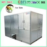 China Auto Operation Ice Cube Machine , Industrial Ice Maker 10,000 Kg Daily Capacity wholesale