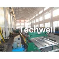 China Steel Structure Floor Deck Roll Forming Machine for Making Metal Structure Floor Decking Panel wholesale