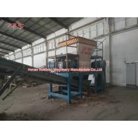 China Low Speed Household Garbage Shredder For Power Station Square Round Bale Hay wholesale