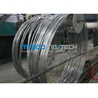 China S30400 / 1.4301 Stainless Steel Coiled Tubing For Boiler And Heat Exchanger wholesale