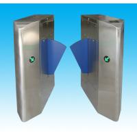 China Automatic 304 stainless steel security gate barrier with resin flap arm for subway, club wholesale