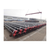 China Good Quality API 5CT Steel Casing Pipe for Oil Gas Drilling pipe with FBE coating/ K55 N80 C95 P110 API 5ct casing pipe wholesale