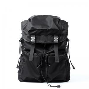 China 28L nylon Backpack, black waterproof Travel Rucksack Laptop bags wholesale