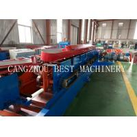 Quality Automatic Change Size CU 800-300 Steel Frame Purlin Roll Forming Machine 18.5kw for sale