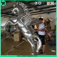 China Silver Inflatable Horse,Inflatable Horse Model,Inflatable Horse Cartoon wholesale