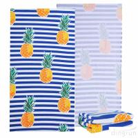 China Ultra Soft Super Water Absorbent Microfiber Beach Towel Large Blanket wholesale