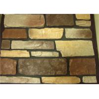 China Multiple-color artificial culture stone for villa interior and exterior wall decoration on sale