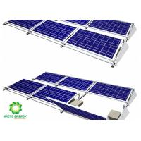 China 2020 Maintenance Energy Aluminum Brackets Solar Structure Ballasted Solar Mounting Systems Aluminum AL 6005-T5 Material wholesale
