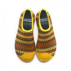 China Seaside Aqua Socks Water Skin Shoes Eco - Friendly Beach Water Gym Shoes wholesale