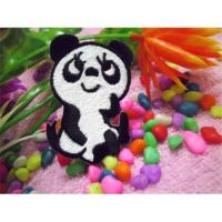China Supply Patches Embroidered Lovely Chinese Panda L008 on sale