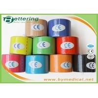 Buy cheap Breathable Kinesiology Physio therapy Tape For Muscle Injuries With Various Colour from wholesalers