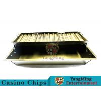 China Float Lift And Down 14 Row Poker Chip Holder Suitable For 40mm Round Chips wholesale