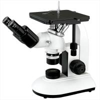 China Mechanical Stage Trinocular Inverted Metallurgical Microscope Infinity Optical System wholesale