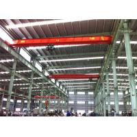 China Single Girder Travelling Overhead Crane EOT Lifting Devices For Workshop / Plant wholesale