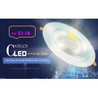 Quality COB LED Down Light with Epistar LED Isolated IC constant driver 3W/5W/7W/12W/15W for sale