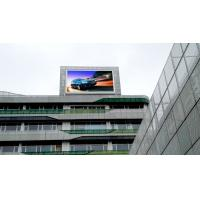Quality P10 Large Outdoor Led Display Screens High Refresh Rate IP68 On Roof Building for sale