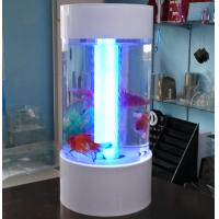 Quality Fishion polishing acrylic fish tank removable with led light for sale