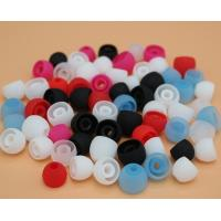 China Pure color cheap silicone earphone cover headset silicon cap wholesale