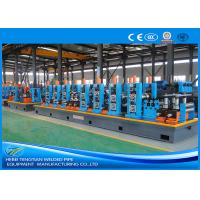 China HG114 Blue Steel Pipe Production Line Carbon Steel Large Size 100m / Min Mill Speed wholesale