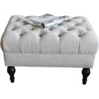 China Upholstered Bedroom Ottoman Bench Oak Wood Luxury Furniture For Hotel wholesale