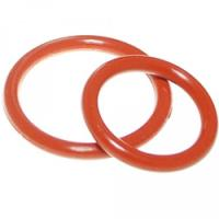 China Aging Resistant Silicone Rubber O Rings Seal Gasket Food Grade For Customized Request wholesale