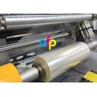 China High Transparency Metallised Plastic Film , BOPET UV Resistant Laminating Film wholesale
