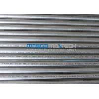 China TP304 / 1.4301 ASTM A269 Stainless Steel Round Tube 14 / 16 / 18SWG , PE End Cut wholesale