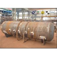 China ASME Standard Produce Superheatered And Saturated Steam Boiler Drum 100mm Thickness wholesale