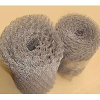 China 0.28mm Thickness Crimped Stainless Steel Knitted Wire Mesh Filter For Farm Fence wholesale