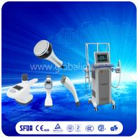 China Safely  Vacuum Slimming Machine combine Vacuum suction RF + Infrared Light + Roller wholesale