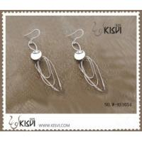 Quality 925 sterling silver & zircon gemstone earrings with competitive price W-AS1054 for sale