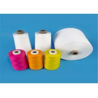 China Raw White 40s/2 100% Virgin Polyester Spun Yarn for Sewing Thread High Tenacity wholesale