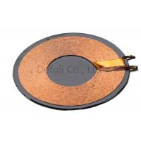 China Square Or Round Shape RX Charger Transmitter Coils / QI Wireless Charging Coil wholesale