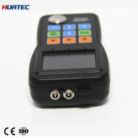 China Echo-Echo Ultrasonic Thickness Gauge Color A-Scan , Time-based B-Scan wholesale