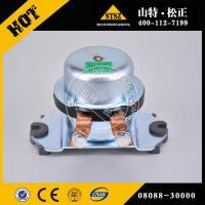 China Komatsu wheel loader WA470-6 battery relay switch 08088-30000 in stock! Fast delivery! wholesale