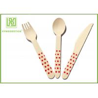 Buy cheap Premium Birch Disposable Eco Friendly Wooden Cutlery Fork Knife Spoon from wholesalers