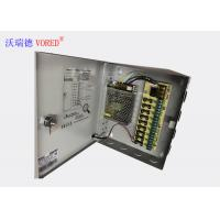 China RoHS DC CCTV Power Supply Constant Voltage Light Weight Compact Size wholesale