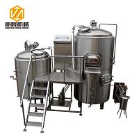 Quality 5HL Beer Production Equipment Large SS / Copper German Style For IPA for sale