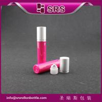 China SRS high quality manufacturer red color 10ml perfume roll on bottle on sale