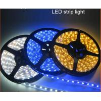 China LED RGB Strips SMD 3528 IP65 single color waterproof DC12V wholesale