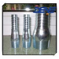 Quality Galvanized King Nipple ZInc Plated Combination Nipple for sale