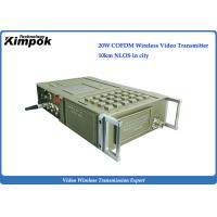 China Full-featured NLOS AV Wireless Transmitter 1080I HD COFDM Video Transmitter and Receiver Transmission wholesale