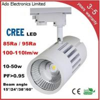 China CREE COB LED Track Light 3 years warranry isolated IC constant driver high PFC CRI lumen wholesale