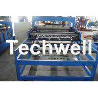 China Automatic Hydraulic Roof Bending Machine With 0 - 12m/min Speed For 0.3 - 0.8mm Roof Sheet wholesale