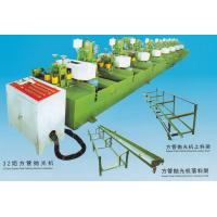 China 13*25-95*45mm 32 Head Square Pipe Polishing Machine Installation 3-30m/min wholesale