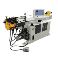 China Full Automatic Stainless Steel Tube Bender , Metal Cnc Pipe Bender Low Noise on sale
